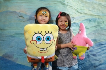 SpongeBob Face Painting_03