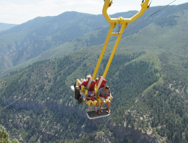 Image result for Giant Canyon Swing in Colorado, USA