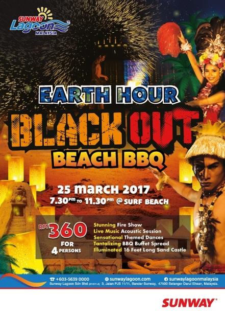 sl-earth-hour-blackout-beach-bbq