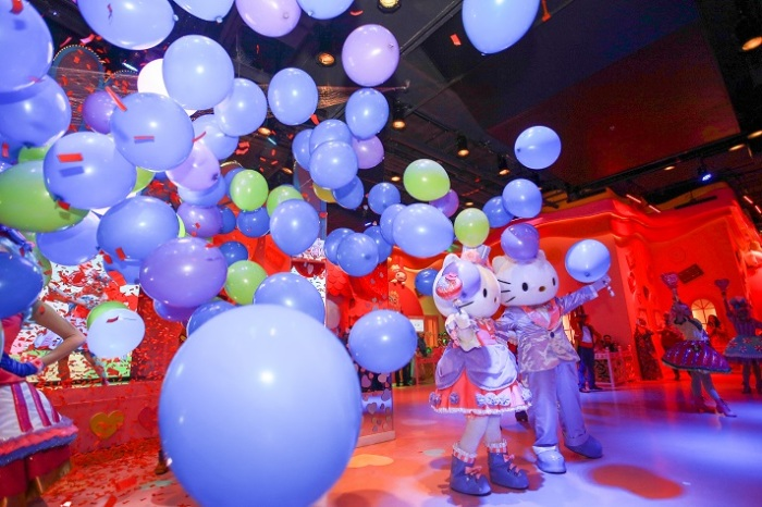 The Official Launch of The Candy Parade, the latest show in SANRIO HELLO KITTY TOWN