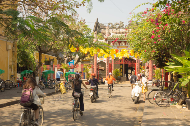 Cycling Through Hoi An