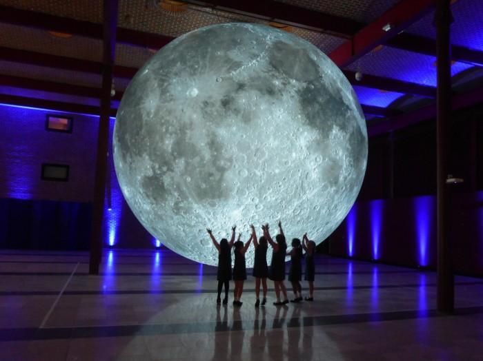 Museum of the Moon by Luke Jerram, Courtesy of artist Luke Jerram-1365x1022